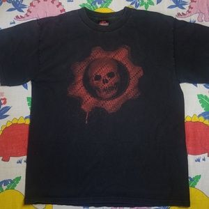Vintage Gears of War Omen Headline T-Shirt L Large